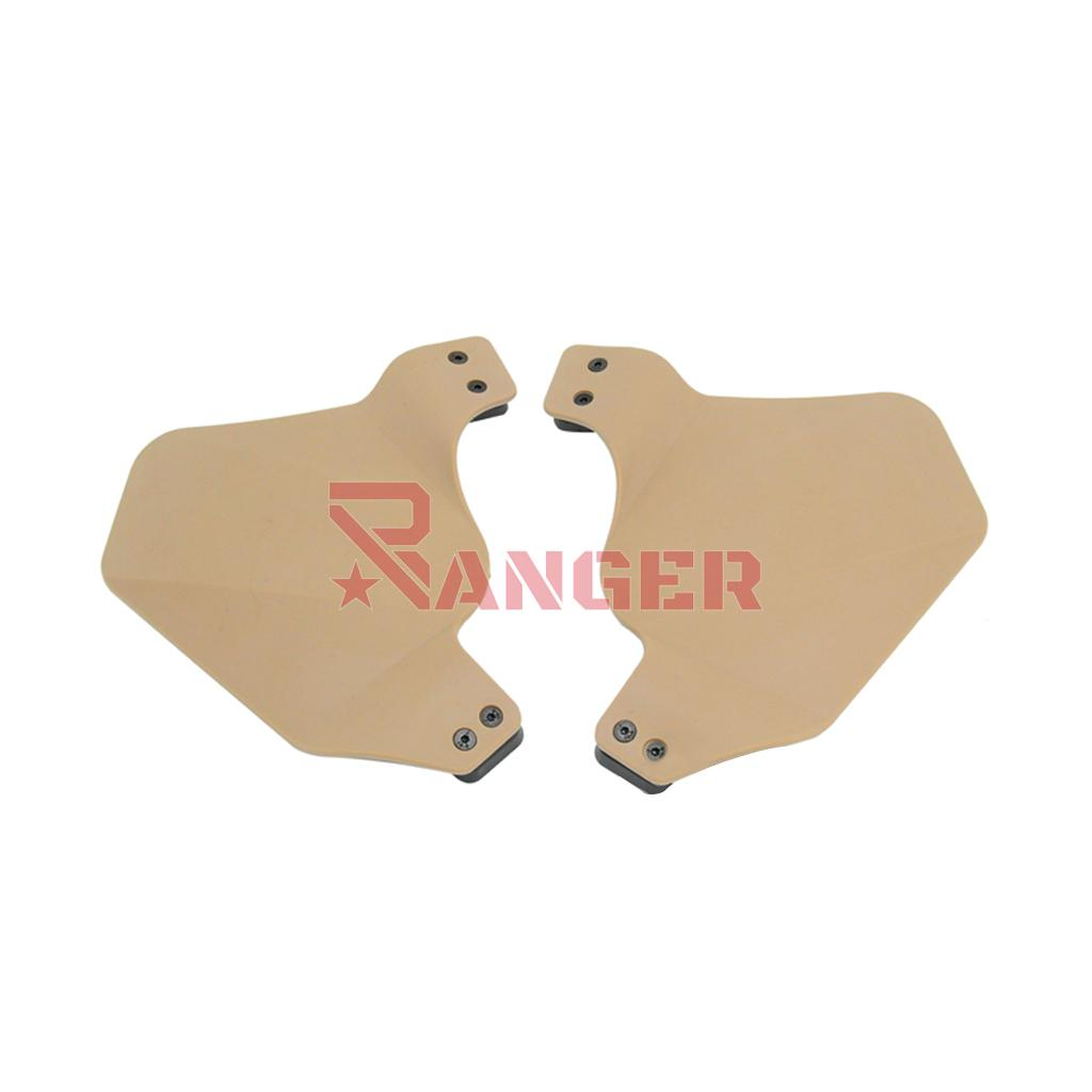 ACOPLE CASCO FMA RAIL SIDE COVER FLEXIBLE TAN