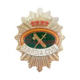 [301295] PLACA CARTERA METALICA RAFAGA FRONTAL GUARDIA CIVIL