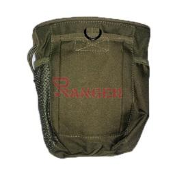 [WA3556-OD/34887-VE/39808] BOLSA DESCARGA DROP MOLLE PEQ. VERDE