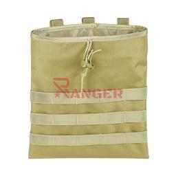 [WA3557-DE/39809] BOLSA DESCARGA DROP MOLLE GR. TAN