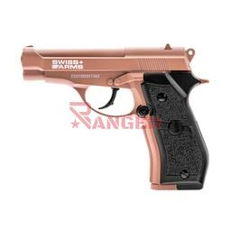 [288763] PISTOLA SWISS ARMS P84 4.5MM CO2 TAN-NEGRA