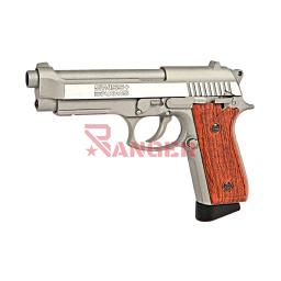 [288511] PISTOLA SWISS ARMS 92 4.5MM CO2 PLATA-MADERA