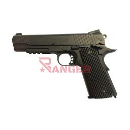 [288513] PISTOLA SWISS ARMS SA1911 4.5MM CO2 NEGRA
