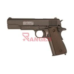 [288710] PISTOLA SWISS ARMS P1911 4.5MM CO2 NEGRA