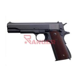 [TM142207] PISTOLA MARUI 1911 A1GAS NEGRA-MARRON